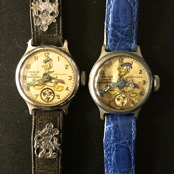 Donald Duck Mystery Watch by Ingersoll - Wristwatches