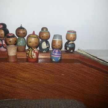 KOKESHI DOLLS ADDED TO MY COLLECTION - Asian