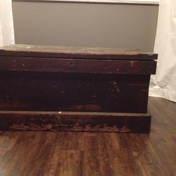 Love this trunk, know nothing about it - Furniture
