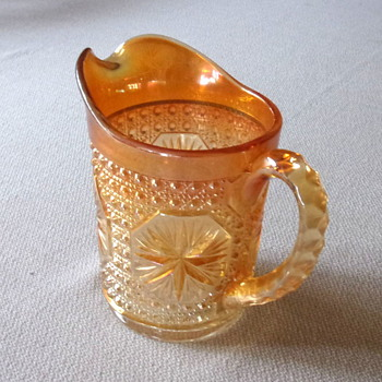 Carnival Glass Pitcher - Glassware