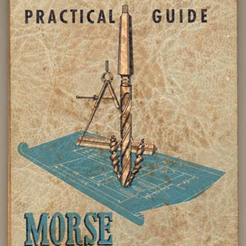 1950 - Morse Twist Drill & Machine Co. Booklet - Paper
