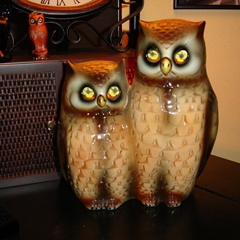 Owls TV lamp by Wales