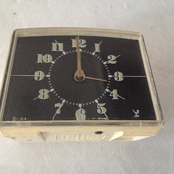 "1960's-70's French Jaz ""Jazistor"" alarm clock."