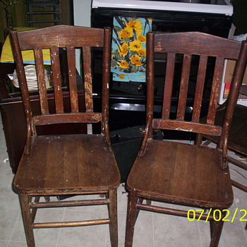 Does anyone know anything about these chairs? - Furniture