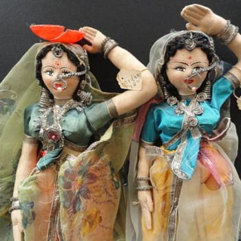"""12"""" India Or Hindu Dolls"""