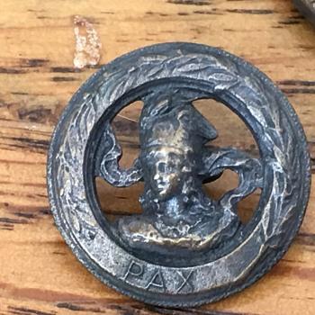 PAX metal portrait button
