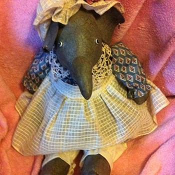 Vintage Stuffed Elephant ??