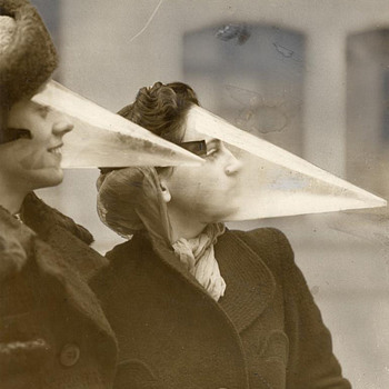 1939 Snow Cone Mask, Snowstorm Wear, Montreal Canada - Accessories