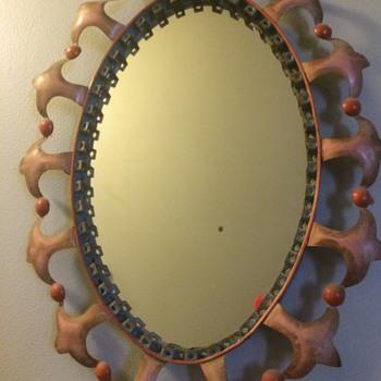 Tin Mirror - Furniture
