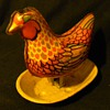 Wyandotte Toy Co. Tin Rooster