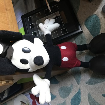 "Very old 18"" Plush Mickey Mous Teddy"