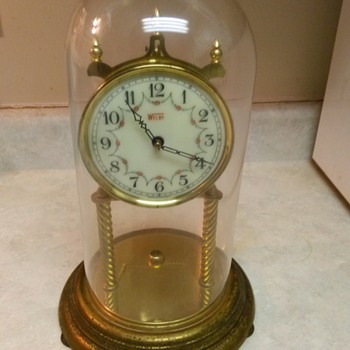 WELBY GLASS DOME CLOCK