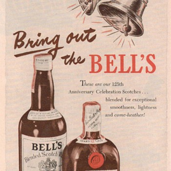 1950 Bell&#039;s Scotch Advertisements