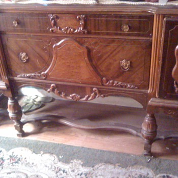 old  cabinet - Furniture