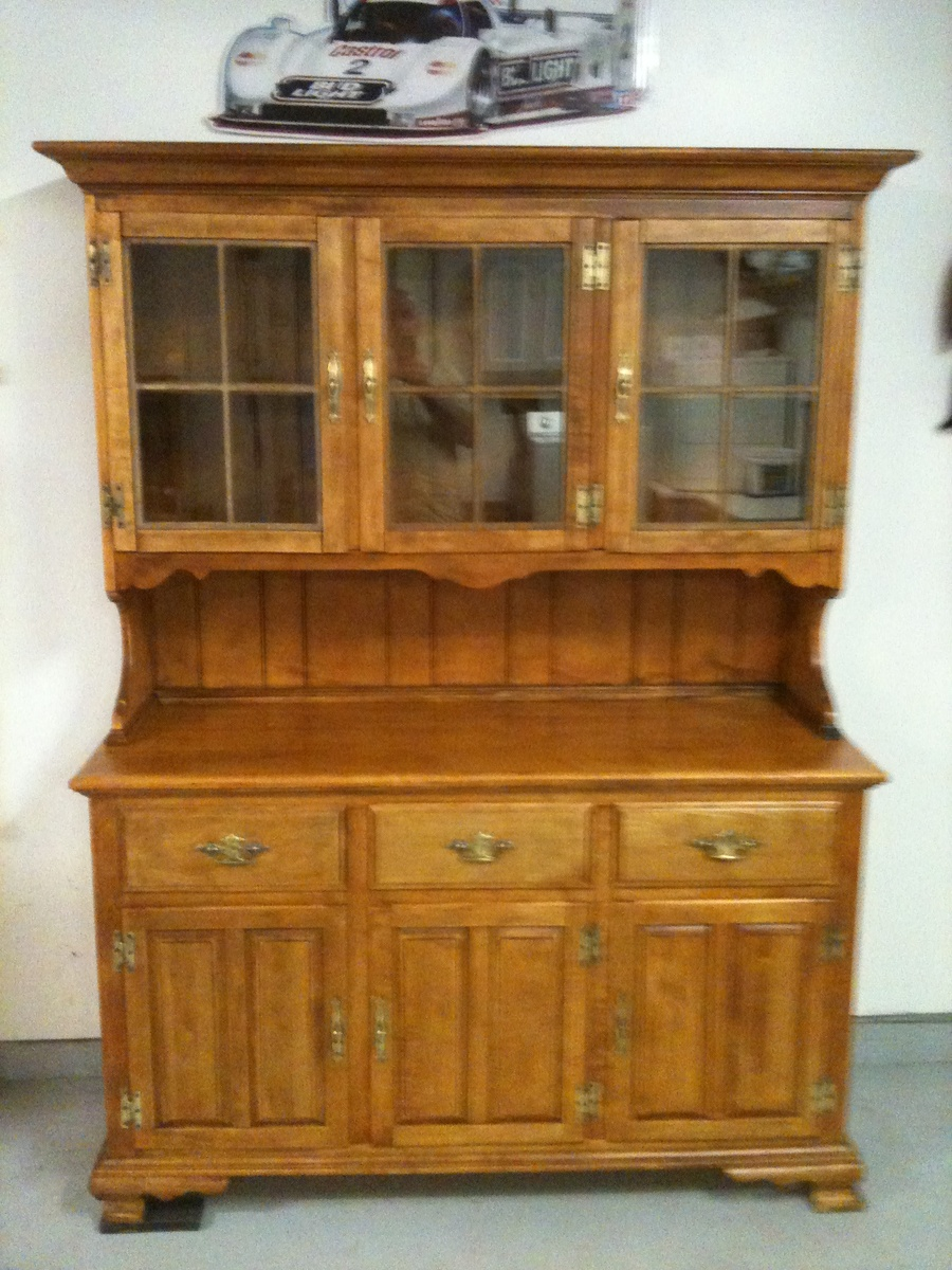 furniture hutch china hutch collectors weekly