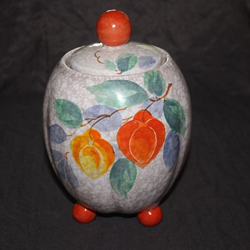 Czech Cookie Jar - Art Pottery