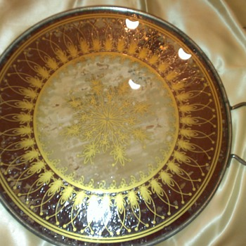 Round Serving Tray - Kitchen