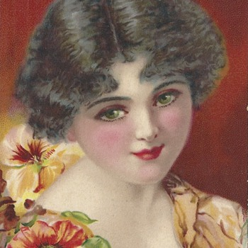 GLAMOUR GIRL EYES 1920