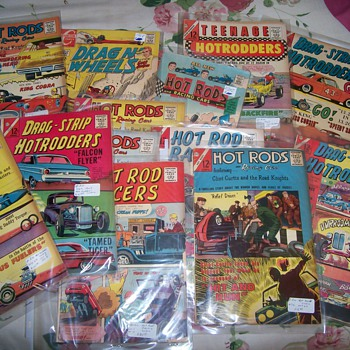 Carlton Hot Rod Comics - Comic Books