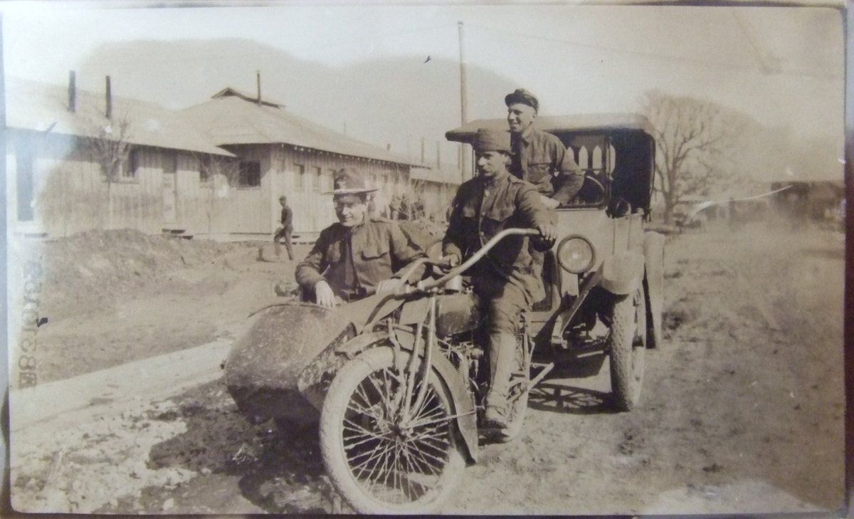 History Of Motorcycles in the Military - Thrillist