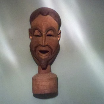 african head - Folk Art