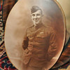 Oval framed Soldier beautiful