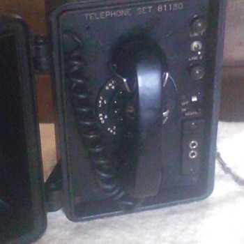 a old call box - Telephones
