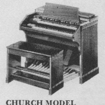 1950 Hammond Organ Advertisement