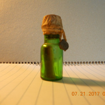 my little green bottle  - Bottles