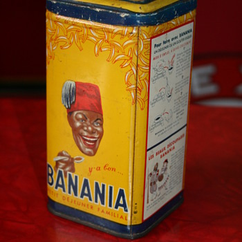 banania tin box - Advertising