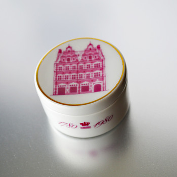 Royal Copenhagen Bientennial Pill Box: 1780 - 1980 - China and Dinnerware