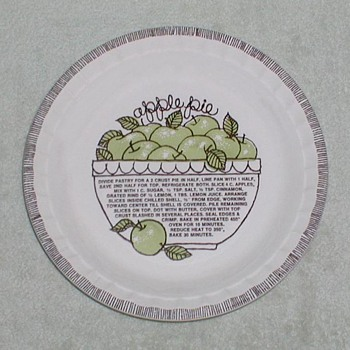 Country Harvest Pie Plates