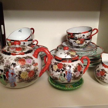 unable to identify chinese tea service