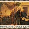 "1976 - ""Declaration of Independence"" Postage Stamps (US)"