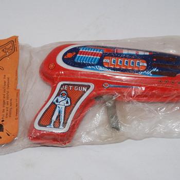Vintage NEW in package JET GUN
