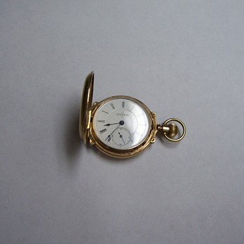 JTS & CO. POCKET WATCH by Illinois Watch Co.