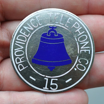 Providence Telephone Company Badge