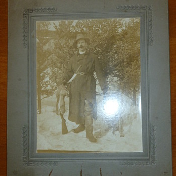 Antique Hunting Photo - Photographs
