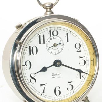Westclox Baby Ben Alarm Clocks, 1917 - 1922