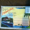 Vintage postcard album Souvenir of Panama Canal