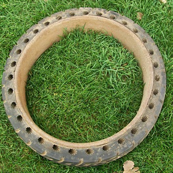 New Old Stock hard rubber tire