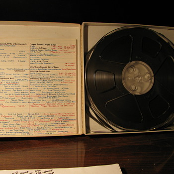Elvis Reel to Reel Tape !!