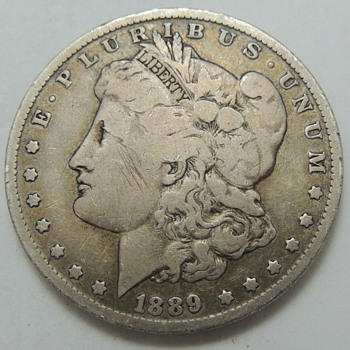 1889 U.S. Silver Dollar