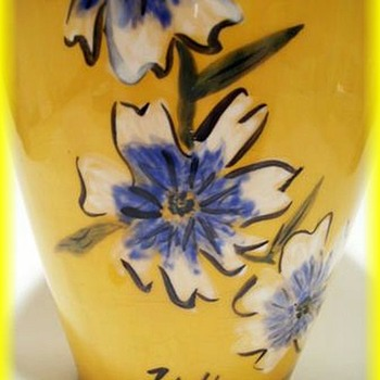 Unknown Ceramic Vase - Art Pottery