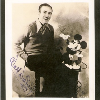 Walt and Mickey - Photographs