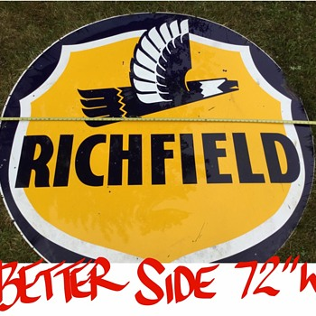 "Richfield sign 72"" - Petroliana"
