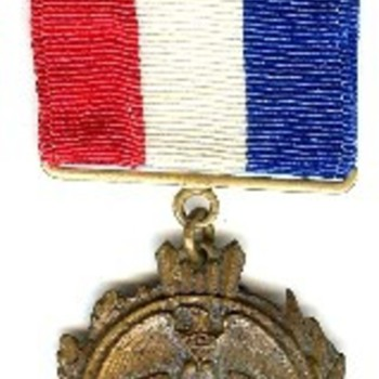 Fond Du Lac, Wisconsin Mexican Border Service Medal.  - Military and Wartime