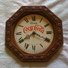 old coca cola clock