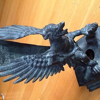 Garuda statues