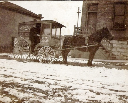 Horse-drawn Milk Wagon